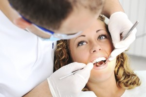 routine teeth cleaning