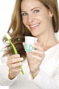 mouthwash dental routine